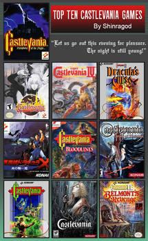 Top Ten Castlevania Games
