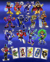 Robot Masters Poll Winners