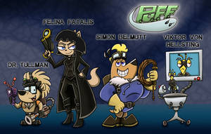 PUFF - Paranormal Undercover Fighting Force