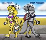 Queen of Summer 7 Rd1: Lestamos VS Tanya Morblung