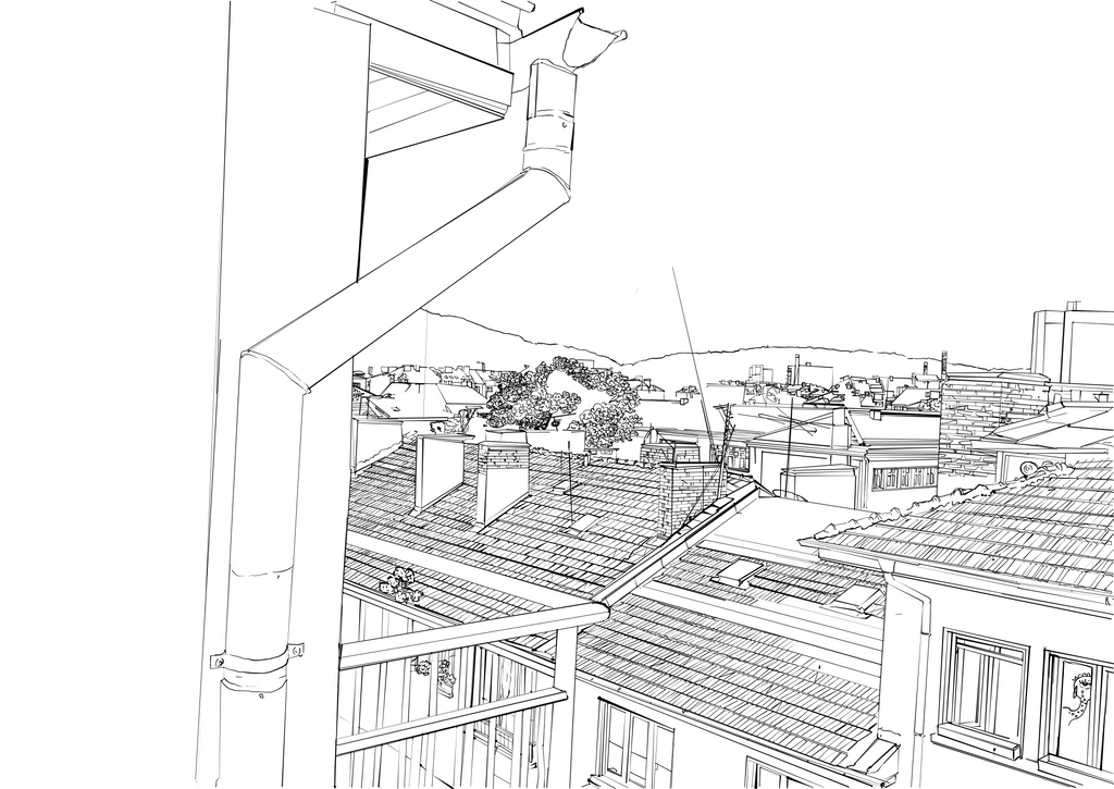 Roofs by AcidGabbie
