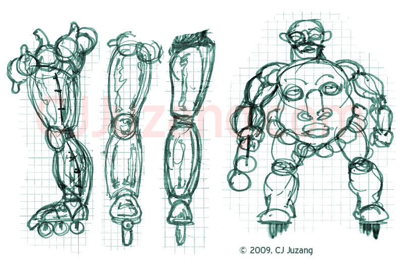MASK Concept Character Drawings