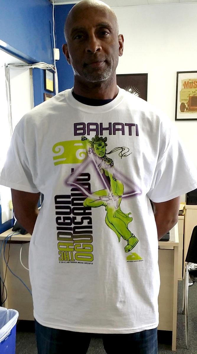 THE ADIGUN OGUNSANWO - BAHATI Tshirt ready. by cjjuzang