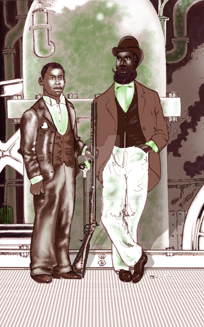 Steam Funk Brothers - circa 1870 by cjjuzang