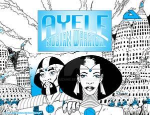 AYELE NUBIAN WARRIOR Poster 002