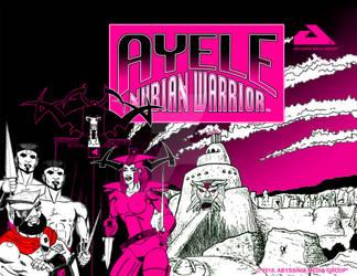 AYELE NUBIAN WARRIOR Poster 003