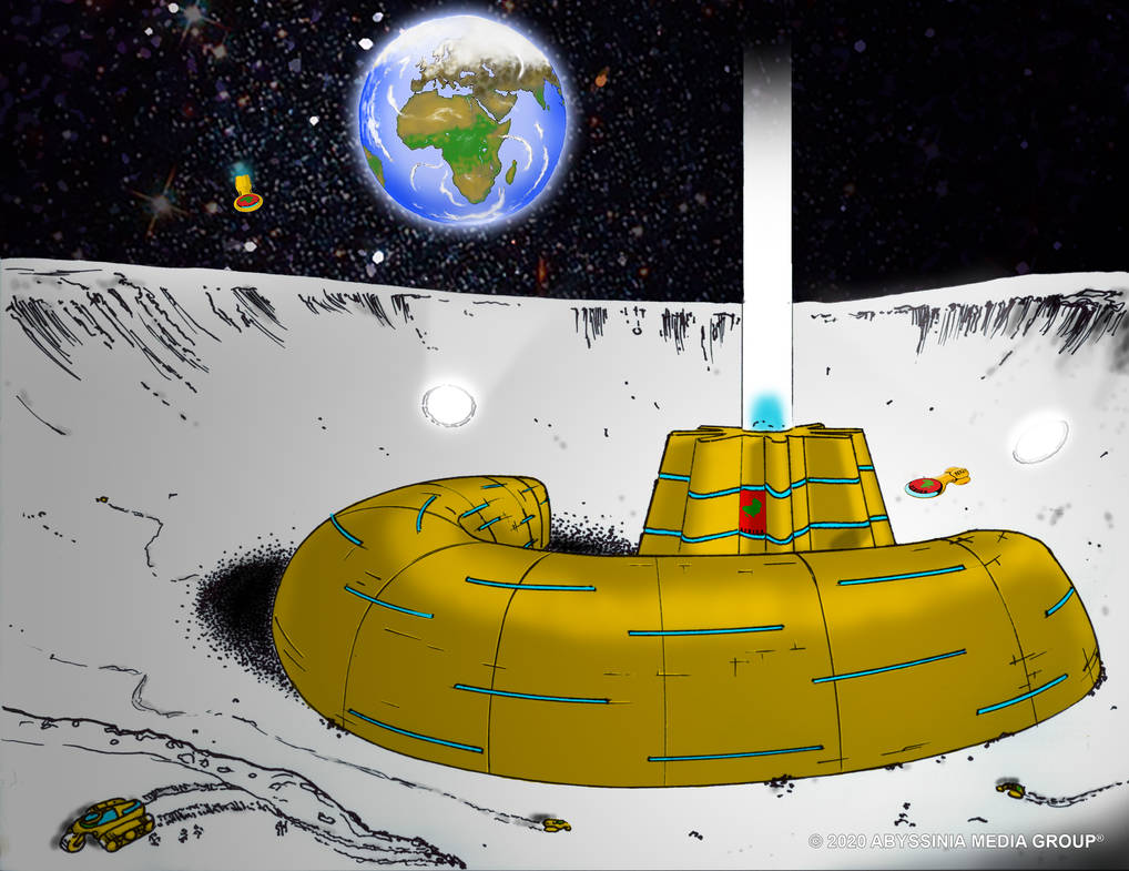 Osrane Ne Nsoroma Moon Base