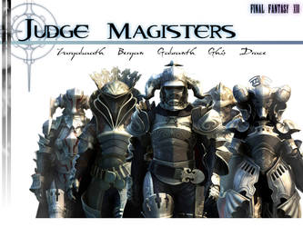 Judge Magisters BKG FFXII by SonOfSephiroth