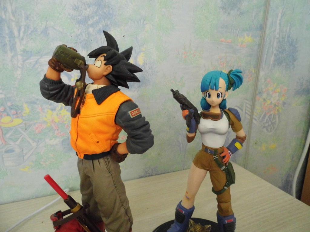 Goku et bulma 2 by yukinasaturne on deviantart - Goku e bulma a letto ...