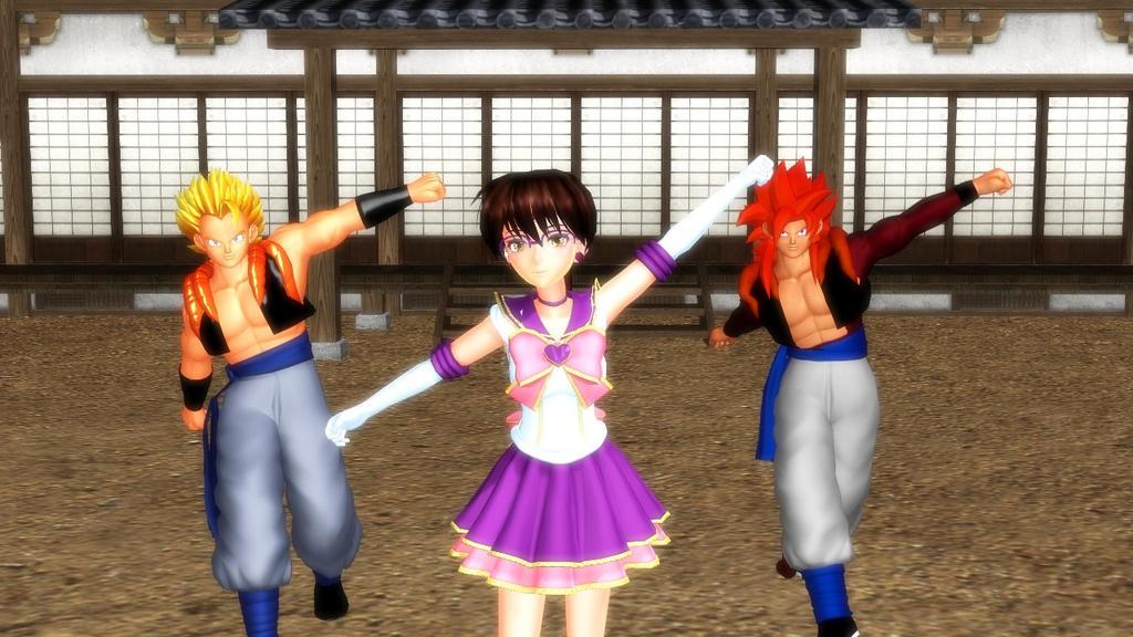 [VIDEO] 0323 - GogetaSSJ4 Gogeta Yukina by YukinaSaturne