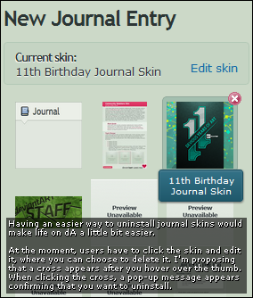 Vs11 Easy Journal Skin Uninstall By Bradleysays On Deviantart
