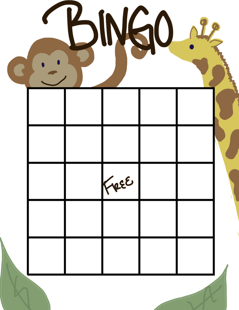 baby shower bingo board by purpleasaur