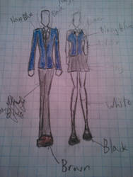 Angelwing8's Tippi Twins Uniform Contest Entry