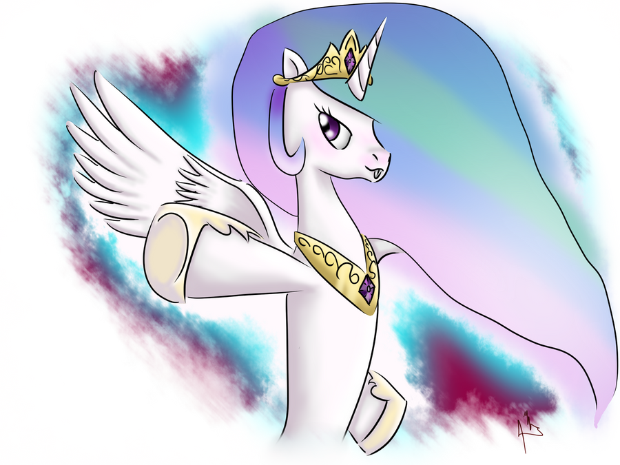 celestia by shadowsn25