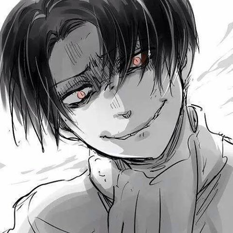 Creepy Heichou Levi by shadowwolf266