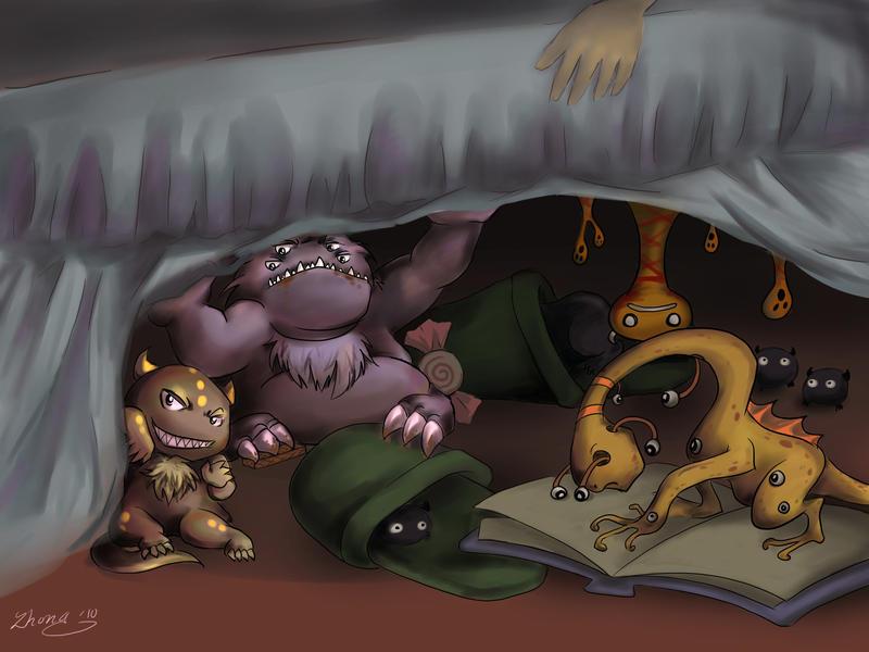 Image Result For Monsters For Kids