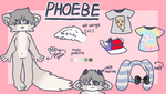 phoebe ref sheet