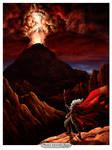 Moses ascends Sinai