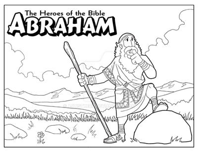 Abraham coloring page by ArtistXero