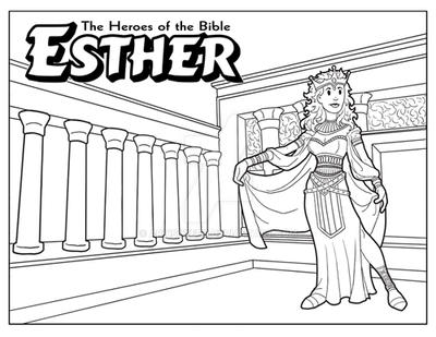 Esther bible coloring pages ~ Esther coloring page by ArtistXero on DeviantArt