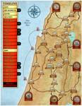 Kings of Israel: Map
