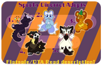Spooky Dinerrets... Adopts OTA and Flatsale [OPEN] by doodlepawss