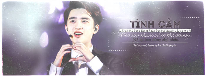 [Quotes|Cover FB] My heart doesn't listen to me! by RinFoxie