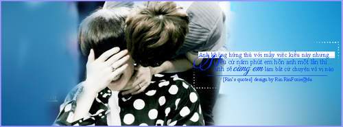 [Quotes|Cover FB] ChanSoo :3 by RinFoxie