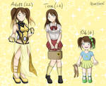 Akimitsu's evolution (BNHA OC) by akanekahomi