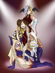 Pro heroines! Ryukyu/Kirameki/Mirko/Mt.Lady (BNHA)