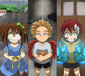 Akimitsu/Keigo/Toya - Traumatized childhood (BNHA)