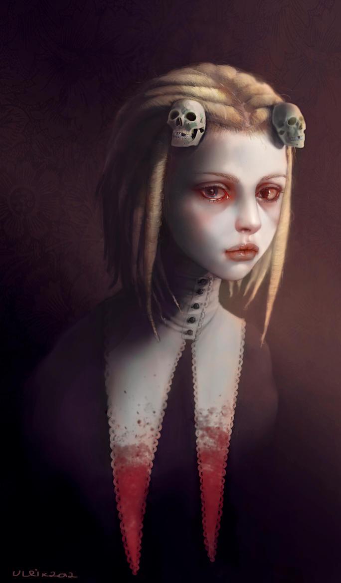 Lenore, the Cute Little Dead Girl by Ulrik-Bad-Ass