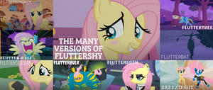 The Many Versions Of Fluttershy
