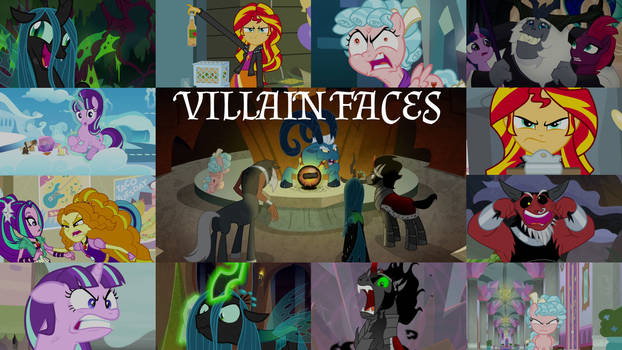 Request: Villain Faces