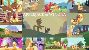 Request: Applejack And Winona