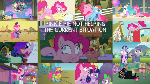 Request: Not Helping Pinkie