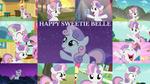 Happy Sweetie Belle by Quoterific