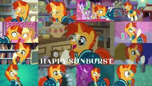 Request: Happy Sunburst
