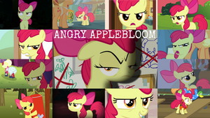 Request: Angry Applebloom