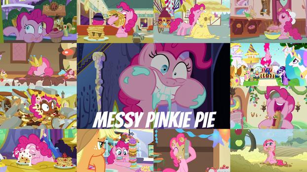 Messy Pinkie Pie