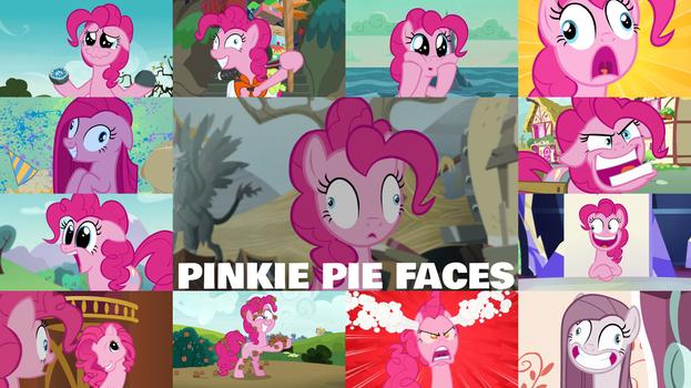 Request: Pinkie Pie Faces