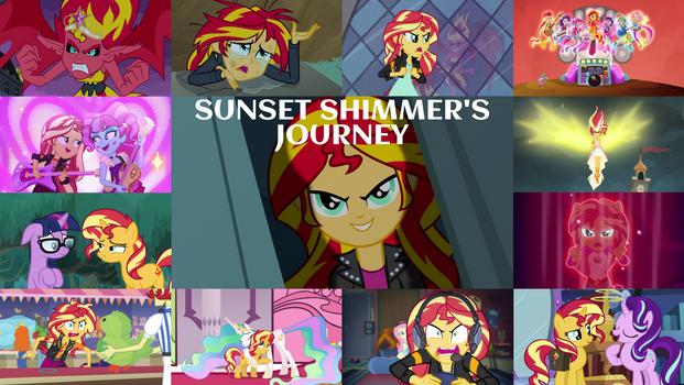 Sunset Shimmer's Journey