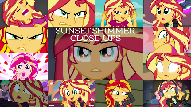 Request: Sunset Shimmer Close-Ups