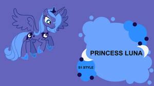 Request: Princess Luna S1 Board