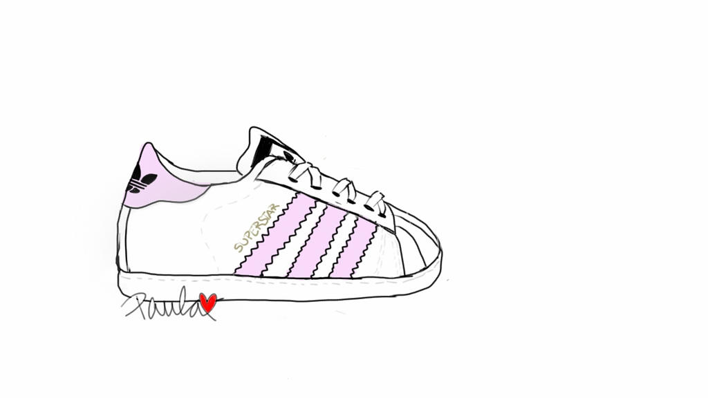 How To Draw Adidas Shoes Step By Step