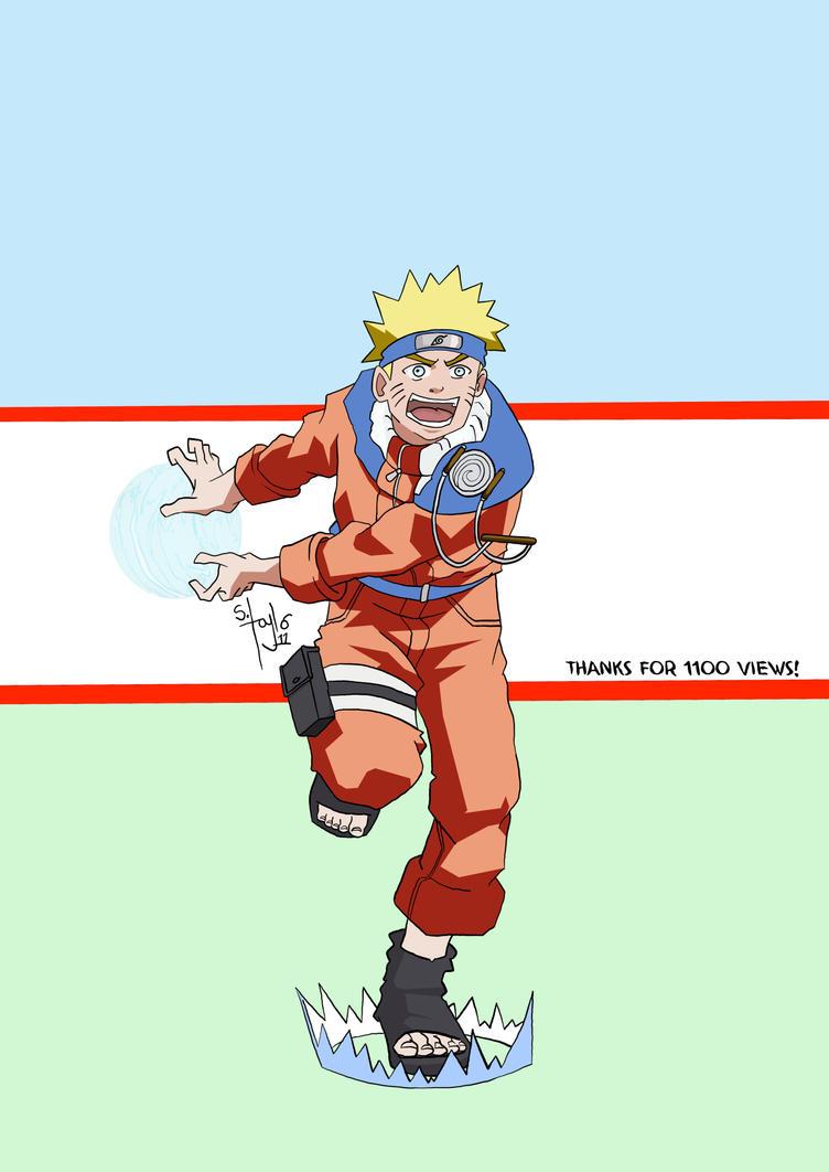 Naruto Rasengan by MrStevenTaylor