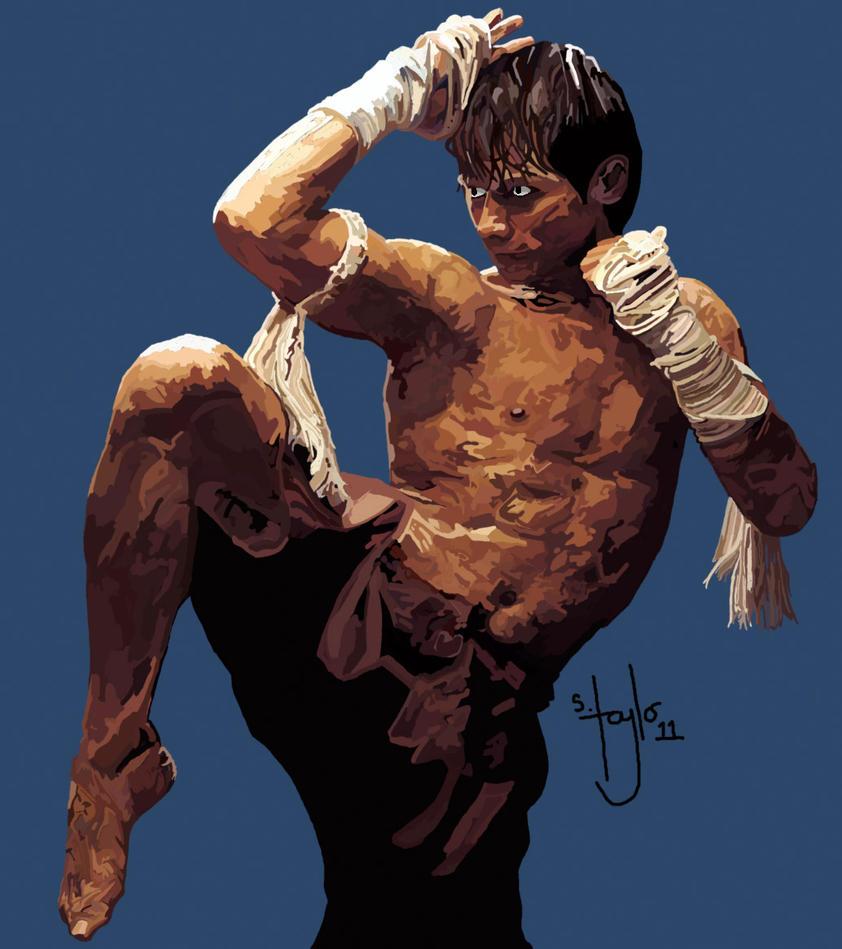 Kickboxer by MrStevenTaylor on DeviantArt