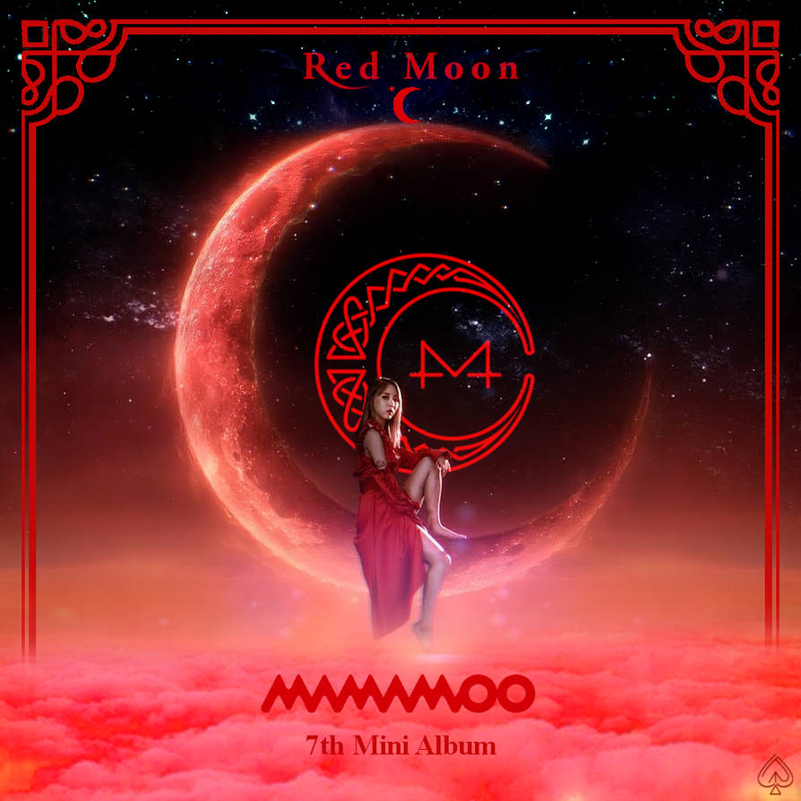 Red Moon - MAMAMOO by Red-Hyena on DeviantArt
