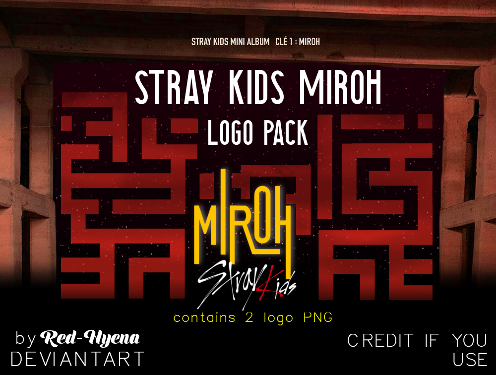 LOGO PACK] MIROH Stray Kids by Red-Hyena on DeviantArt