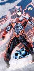Welly West Dc52 The Flash by sonicwe23